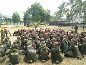TNI Tentara Nasional Indonesia, Diklat, Bela Negara, Pertahanan RI, Tentara