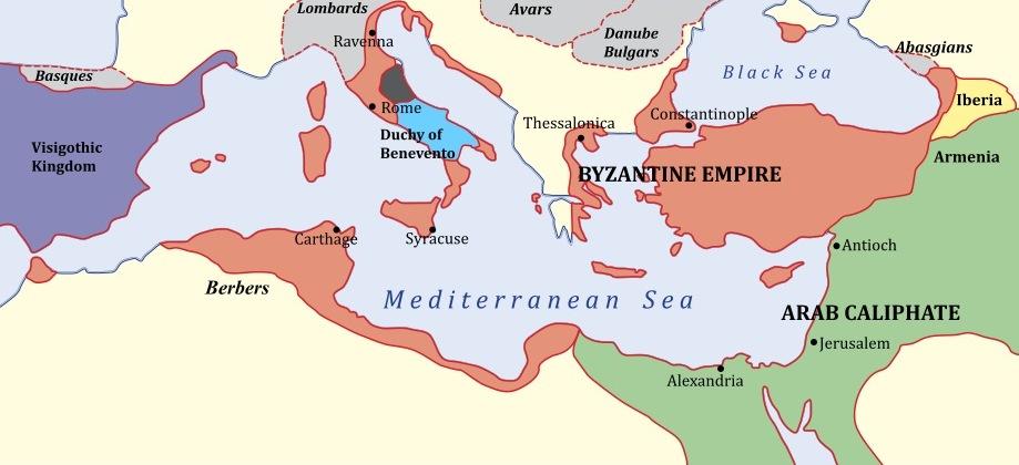 Kekaisaran Romawi Timur - Byzantium